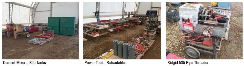 Talon Energy Services – Surplus Oilfield Support Equipment